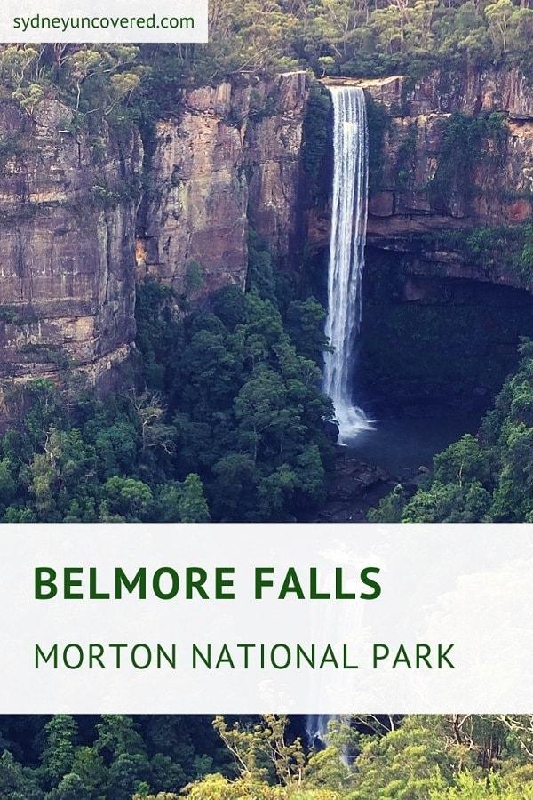 Belmore Falls in Morton National Park