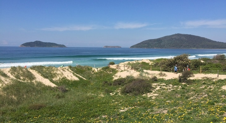Bennetts Beach in Hawks Nest