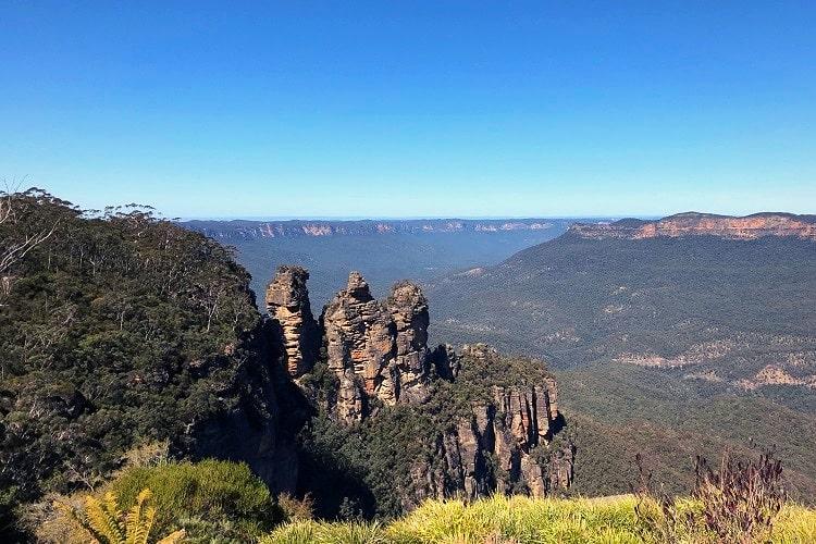 Blue Mountains is a popular weekend getaway