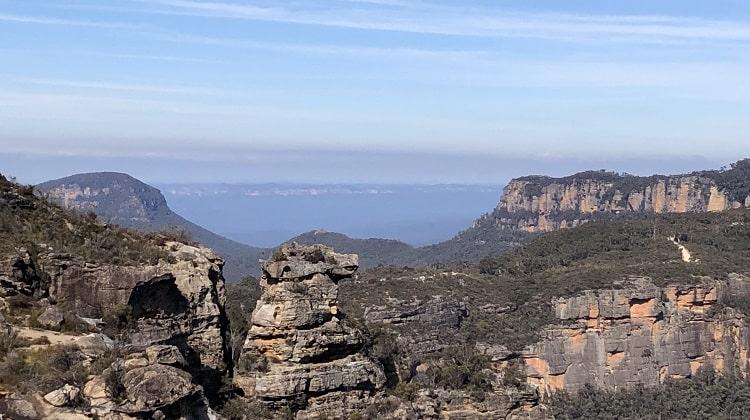 Views of Boars Head Rock