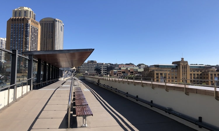 Cahill Expressway Lookout