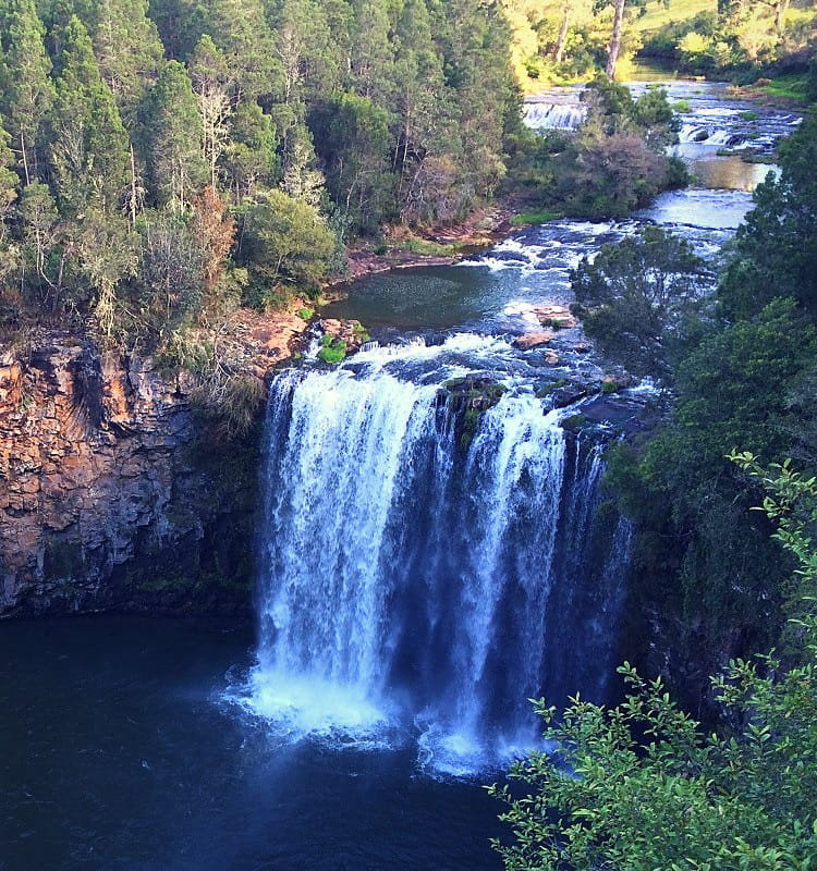 Dangar Falls in Dorrigo