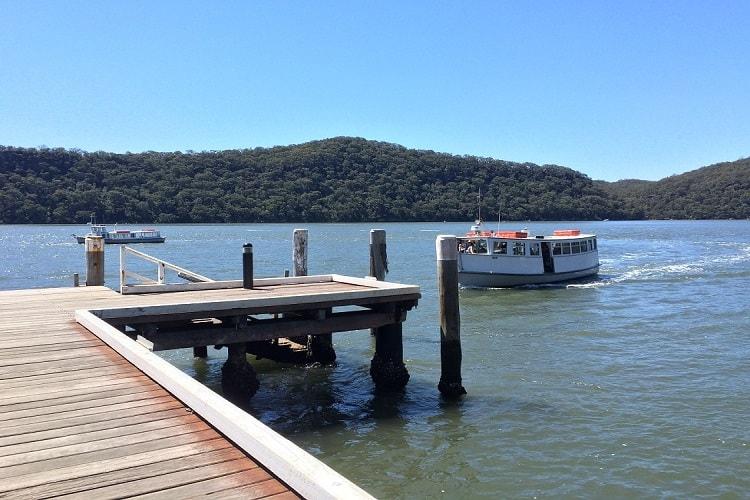 Ferry to Dangar Island
