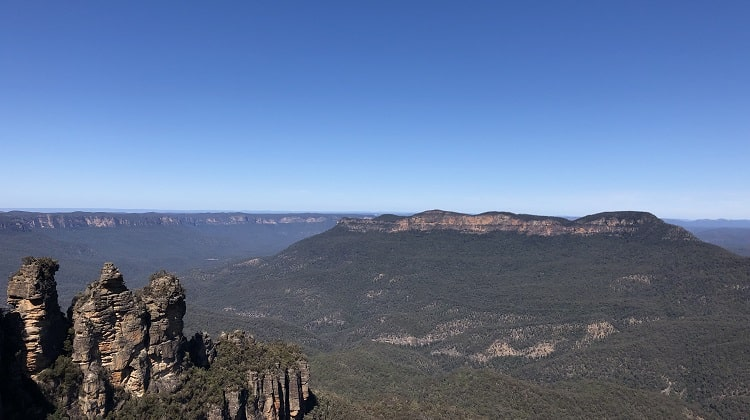 The Blue Mountains is a romantic getaway