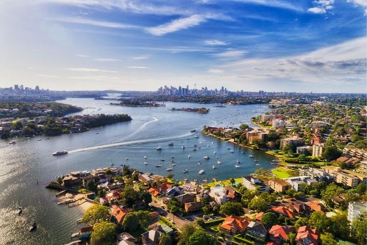 Ferry to Parramatta