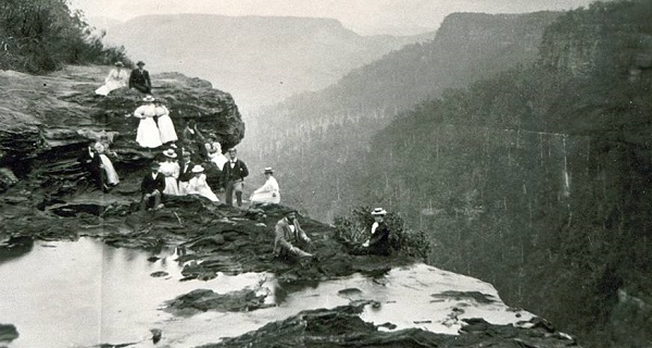 Fitzroy Falls in the 19th century