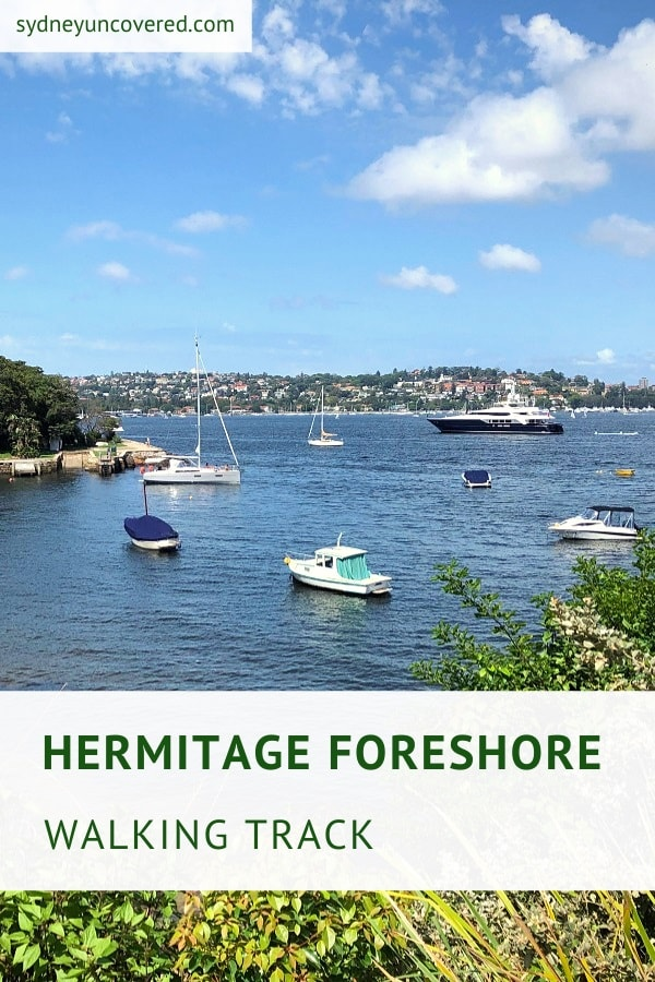 Hermitage Foreshore Track in Vaucluse