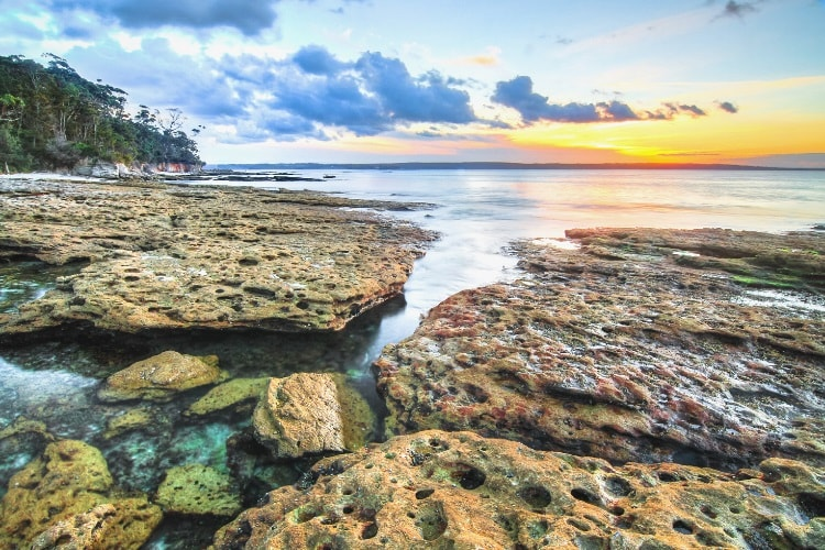 Jervis Bay on the NSW South Coast