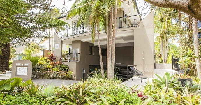 Julians Apartments in Byron Bay