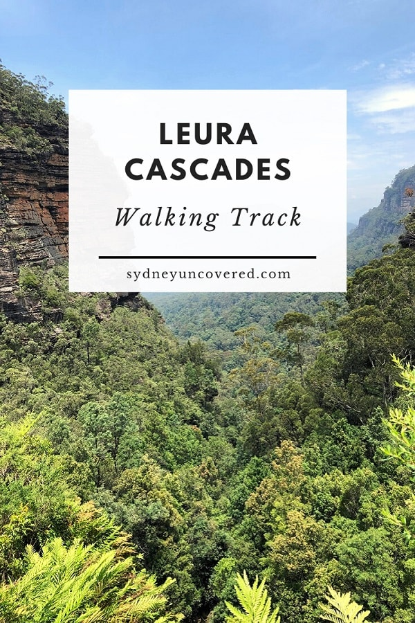 Leura Cascades walking track and picnic area