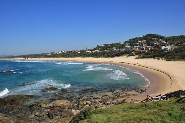 Port Macquarie is a popular weekend destination