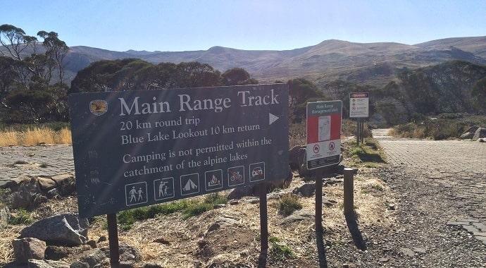 Main Range walking track