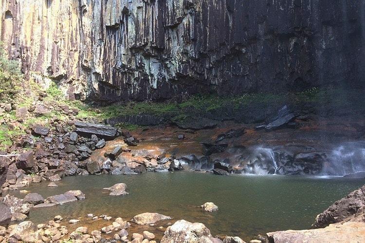 Base of Minyon Falls