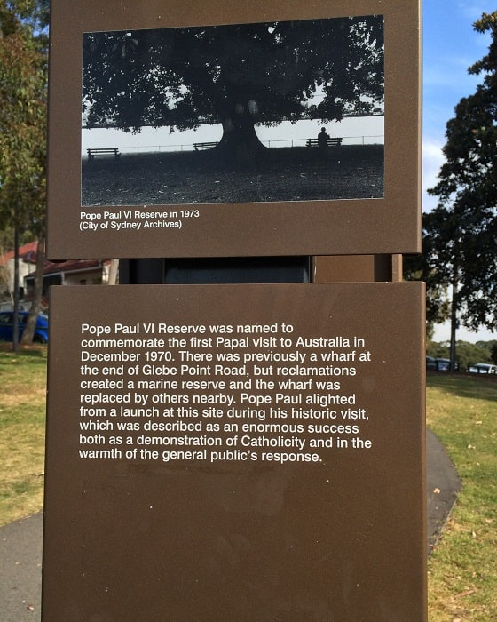 Pope Paul VI Reserve in Glebe