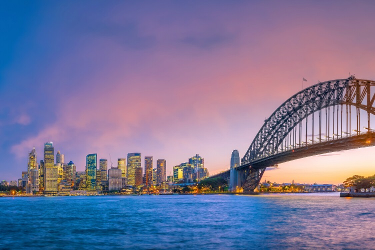 Do a sunset cruise on Sydney Harbour
