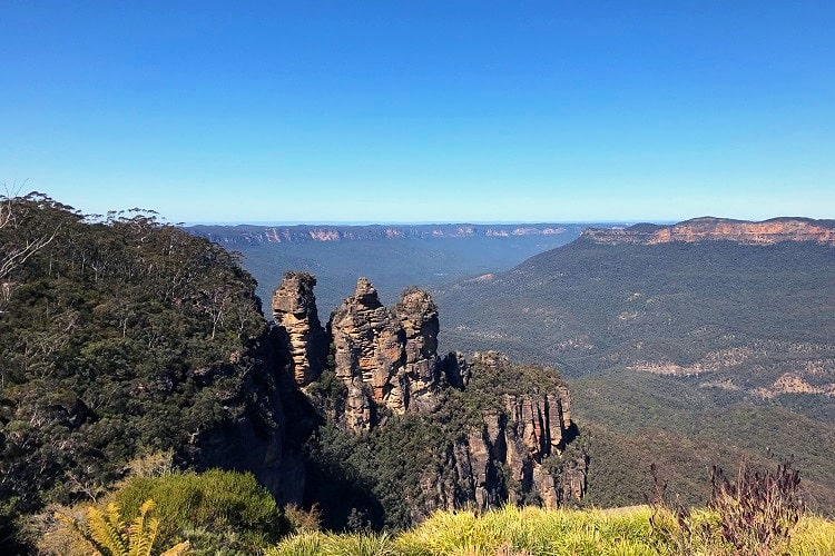 Hiking in the Blue Mountains is free