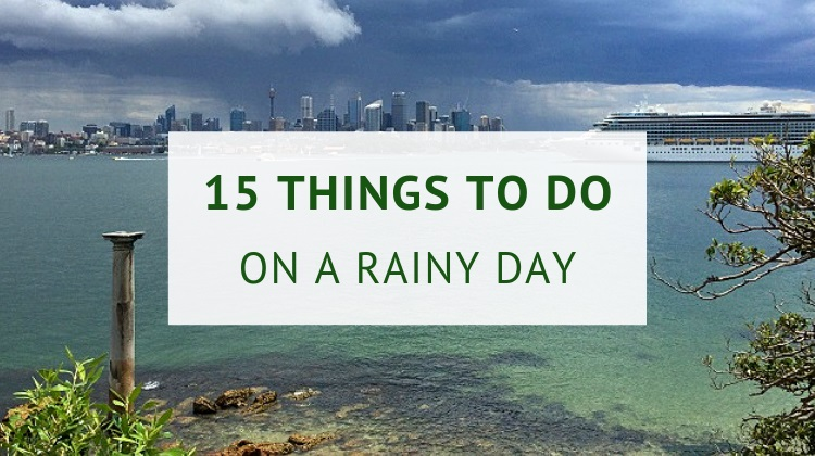 Indoor things to do in Sydney on a rainy day