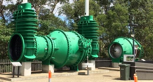 Old Warragamba Dam valves