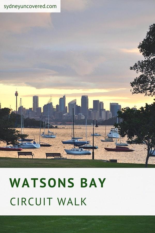 Watsons Bay walking track