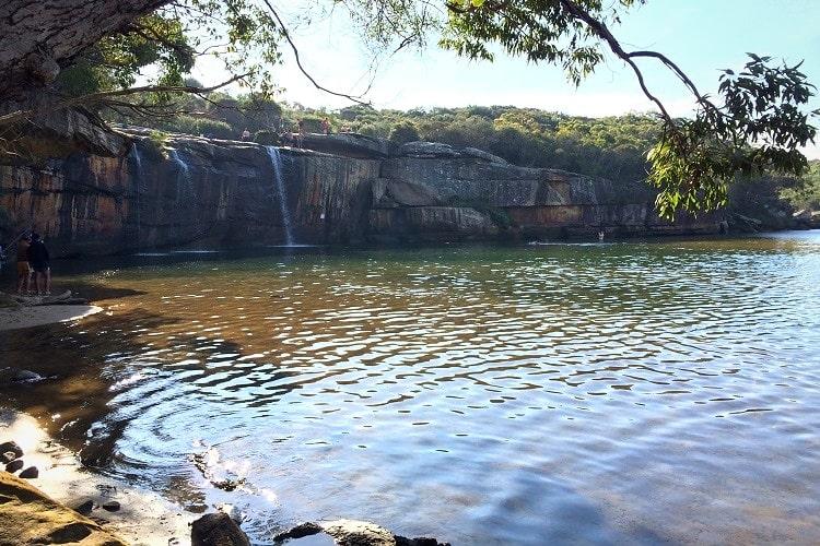 Wattamolla Waterfall