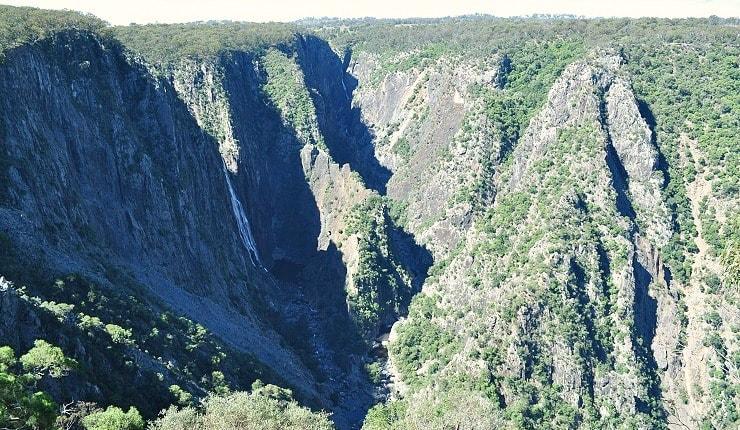 Wollomombi Falls and Chandler Falls