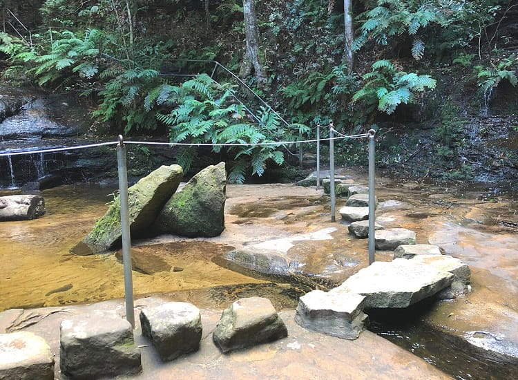 Path in front of Empress Falls