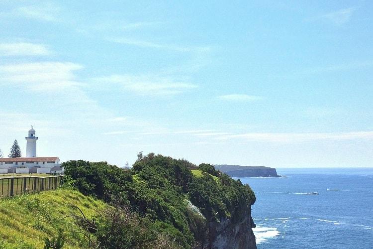 Ocean views along the Federation Cliff Walk