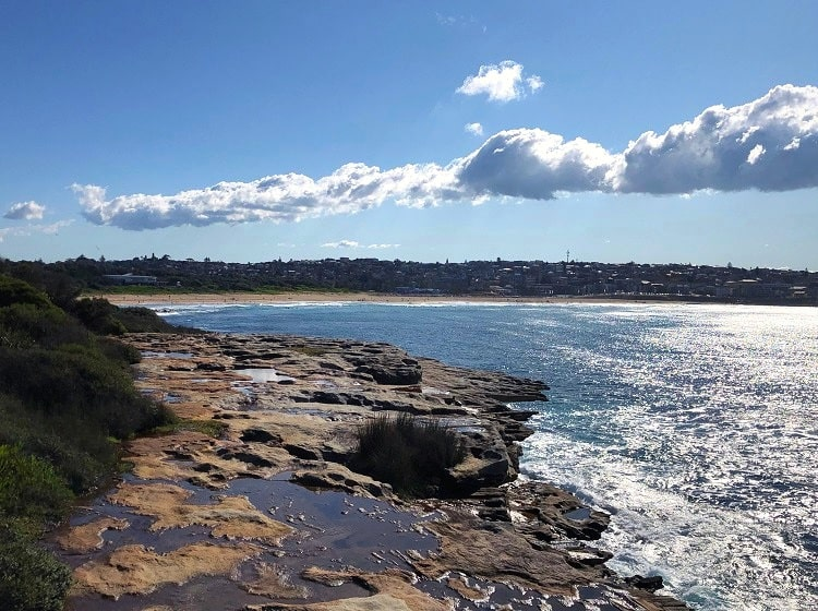 Maroubra Beach views from Malabar Headland