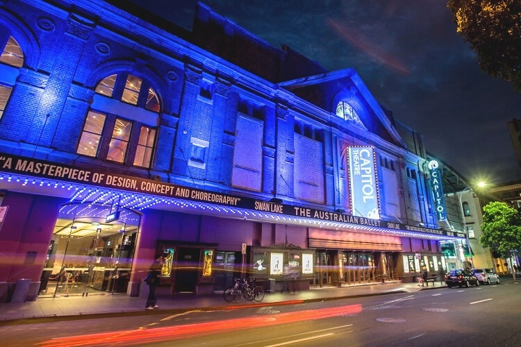 Capitol Theatre in Sydney