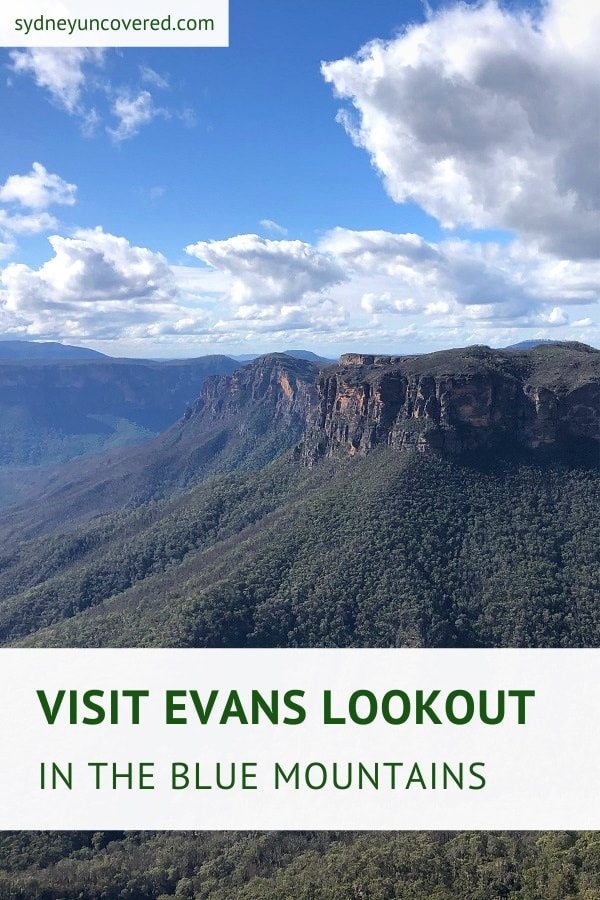 Evans Lookout in the Blue Mountains