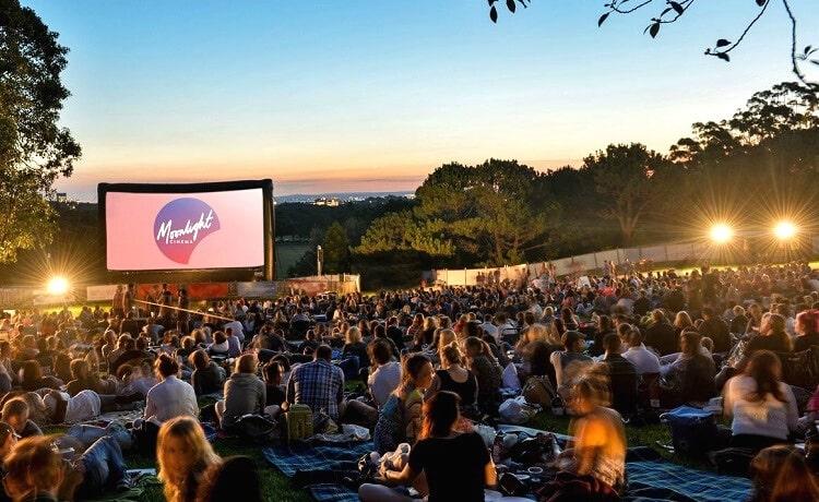 Visit a Sydney outdoor cinema