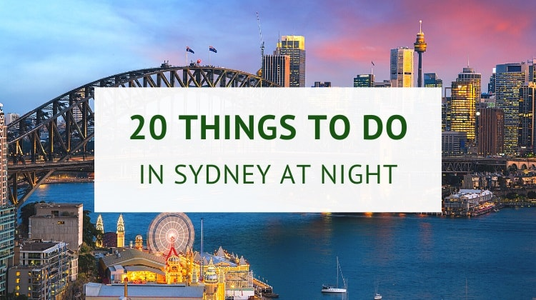 Things to do in Sydney at night