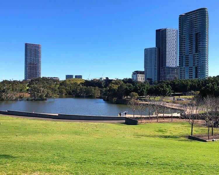 Bicentennial Park in Sydney Olympic Park