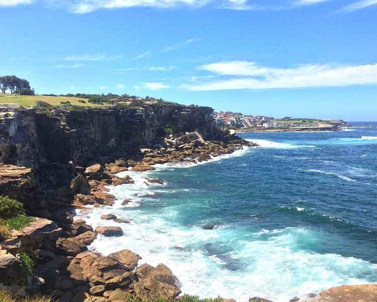 Dolphins Point in Coogee