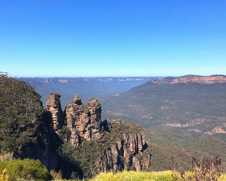 The Three Sisters in Katoomba