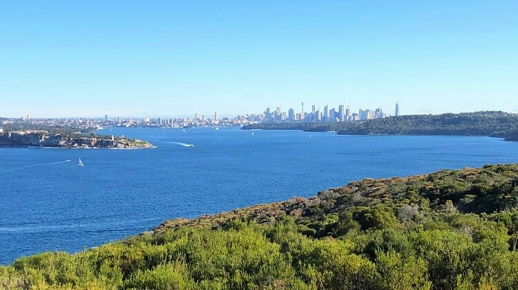 Fairfax Walk and Lookout on Manly's North Head