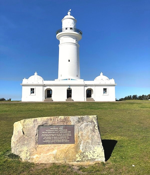 Macquarie Lighthouse in Vaucluse
