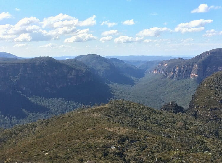 Views of Mount Banks