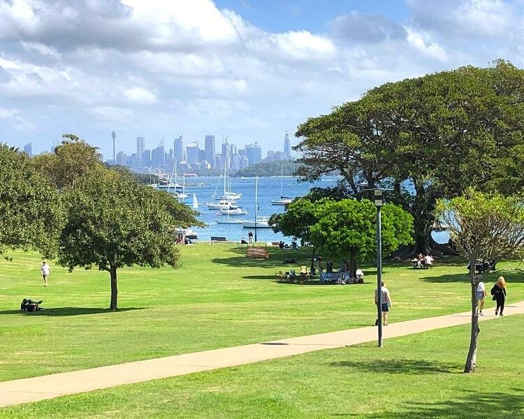 Robertson Park in Watsons Bay