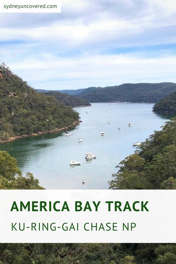 America Bay Track in Ku-ring-gai Chase National Park