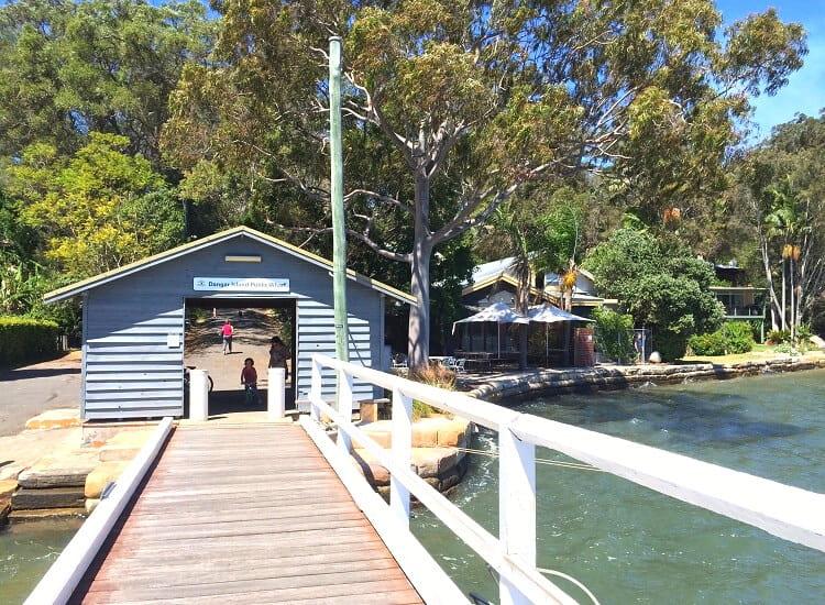 Dangar Island ferry wharf