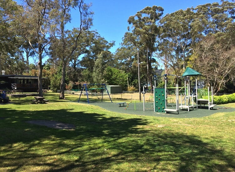 Playground on Dangar Island