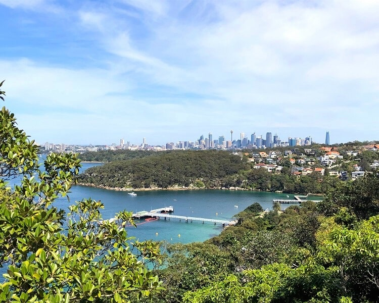 City views from Georges Head Lookout