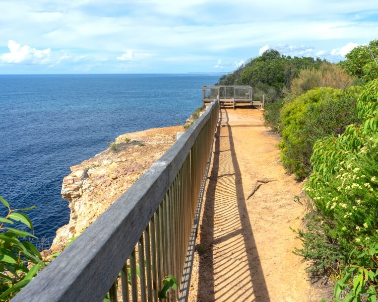 Gerrin Point Lookout along the Bouddi Coastal Walk
