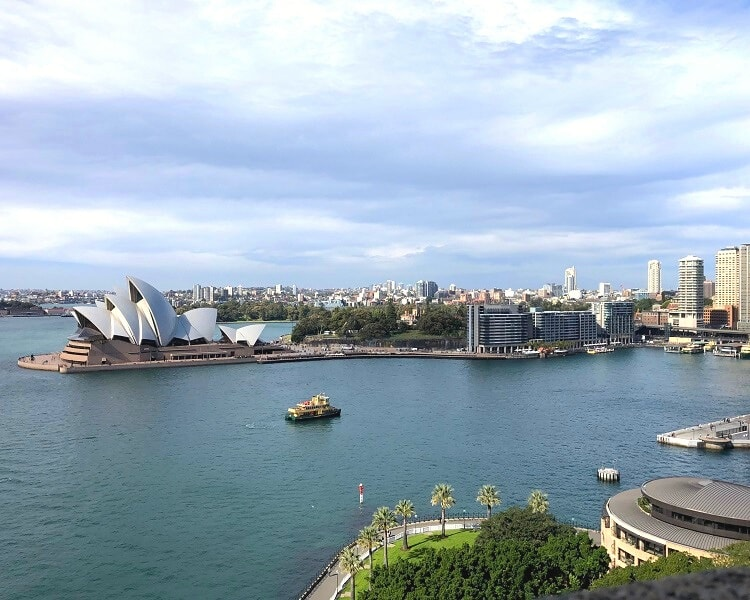 Circular Quay as seen from the Harbour Bridge