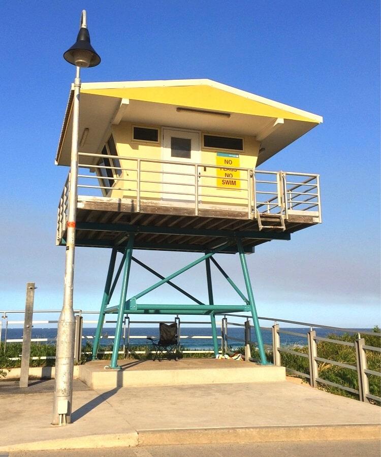 North Cronulla SLSC tower