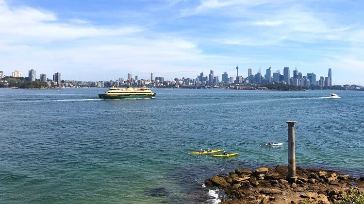 Taronga Zoo to Balmoral Beach walk