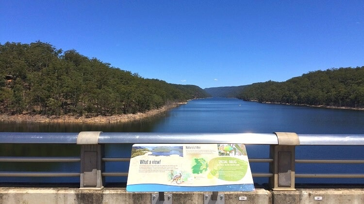Warragamba Dam and Lake Burragorang Lookout