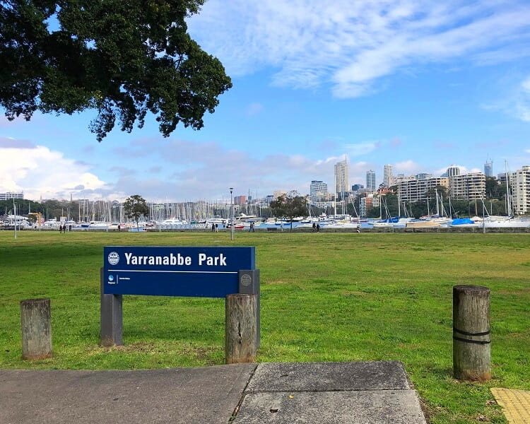 Yarranabbe Park in Darling Point