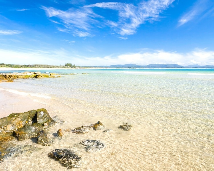 Clarkes Beach in Byron Bay